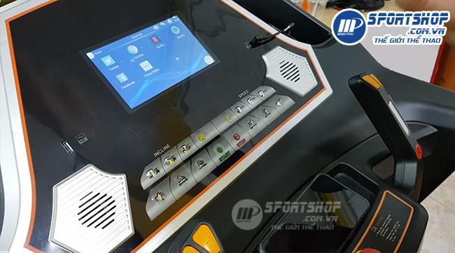 Máy chạy bộ điện đa năng HQ-555