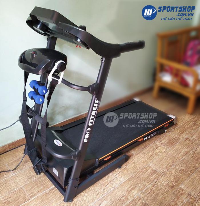 Máy chạy bộ điện Pro Fitness PF-112D