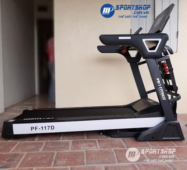 Máy chạy bộ điện Pro Fitness PF-117D