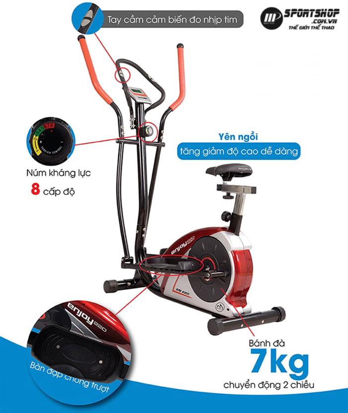 Xe đạp tập thể dục toàn thân EN220