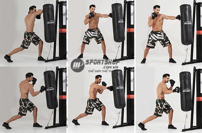 Tập boxing với BP-806