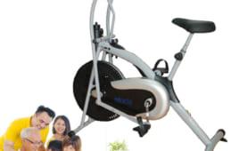 Tư vấn lựa chọn xe đạp tập thể dục đa năng cho gia đình