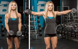 Những bài tập vai cho nữ giới giảm mỡ thừa hiệu quả nhất