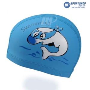 Mũ bơi vải cao cấp cho trẻ em