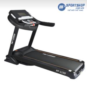 Máy chạy bộ điện Pro Fitness PF-115 đơn năng
