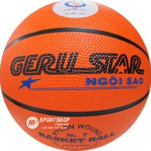 Quả bóng rổ Geru số 7 da PVC