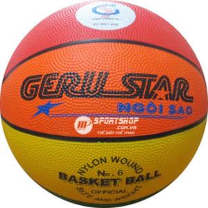 Bóng rổ Geru Star 8 màu số 6