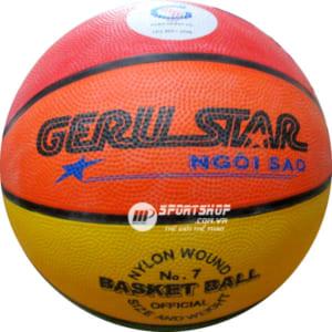 Bóng rổ Geru Star 8 màu số 7