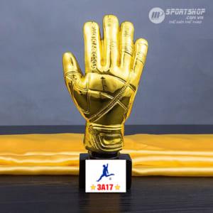 Cúp thể thao Găng tay vàng