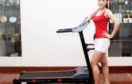 Giảm cân hiệu quả cùng máy chạy bộ