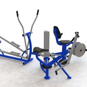 Cụm vận động lắc tay-xe đạp-toàn thân