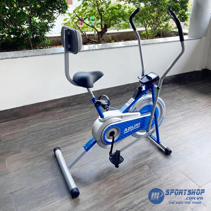 ẢNh thực tế xe đạp tập thể dục Aguri AGA-209SA